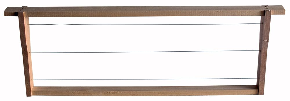 Zander Flachzarge, kurze Ohren (455x159), gezapft, gedrahtet, Paket 20 Stück