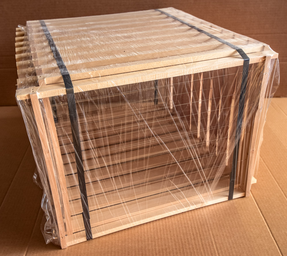 Zander Jumbo (455x425), gezapft, gedrahtet, Paket 20 Stück