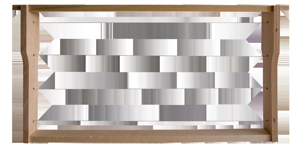 Einheitsmaß (406x223), gezapft, gedrahtet, Paket 20 Stück